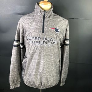 N E Patriots L Super Bowl LI Champions Windbreaker